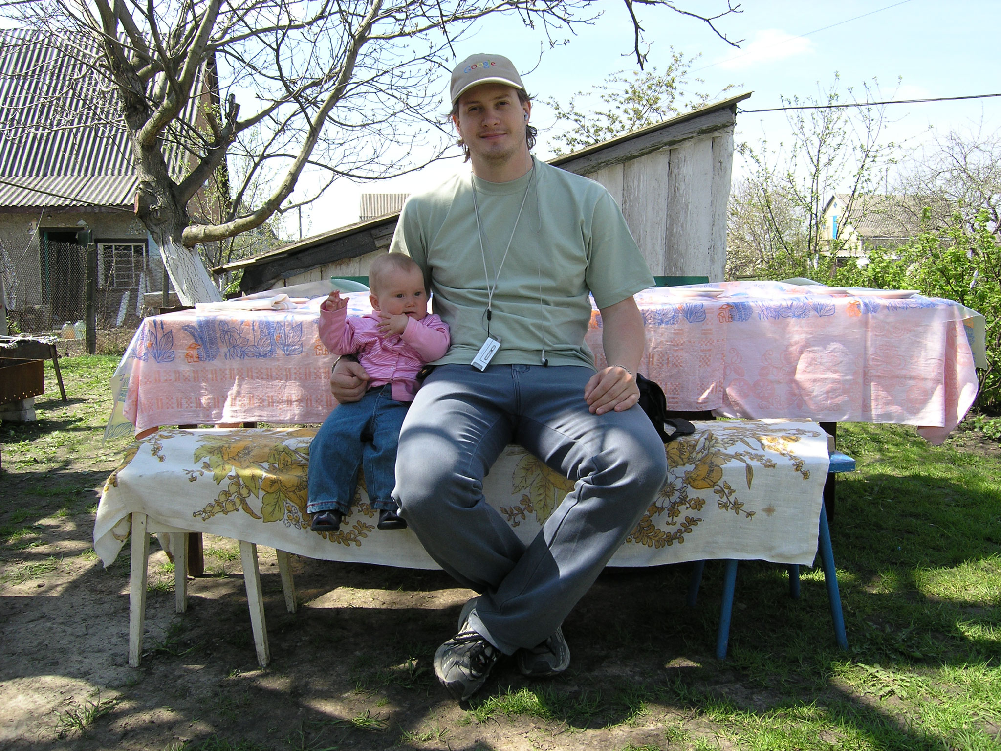 Krisina with Daddy