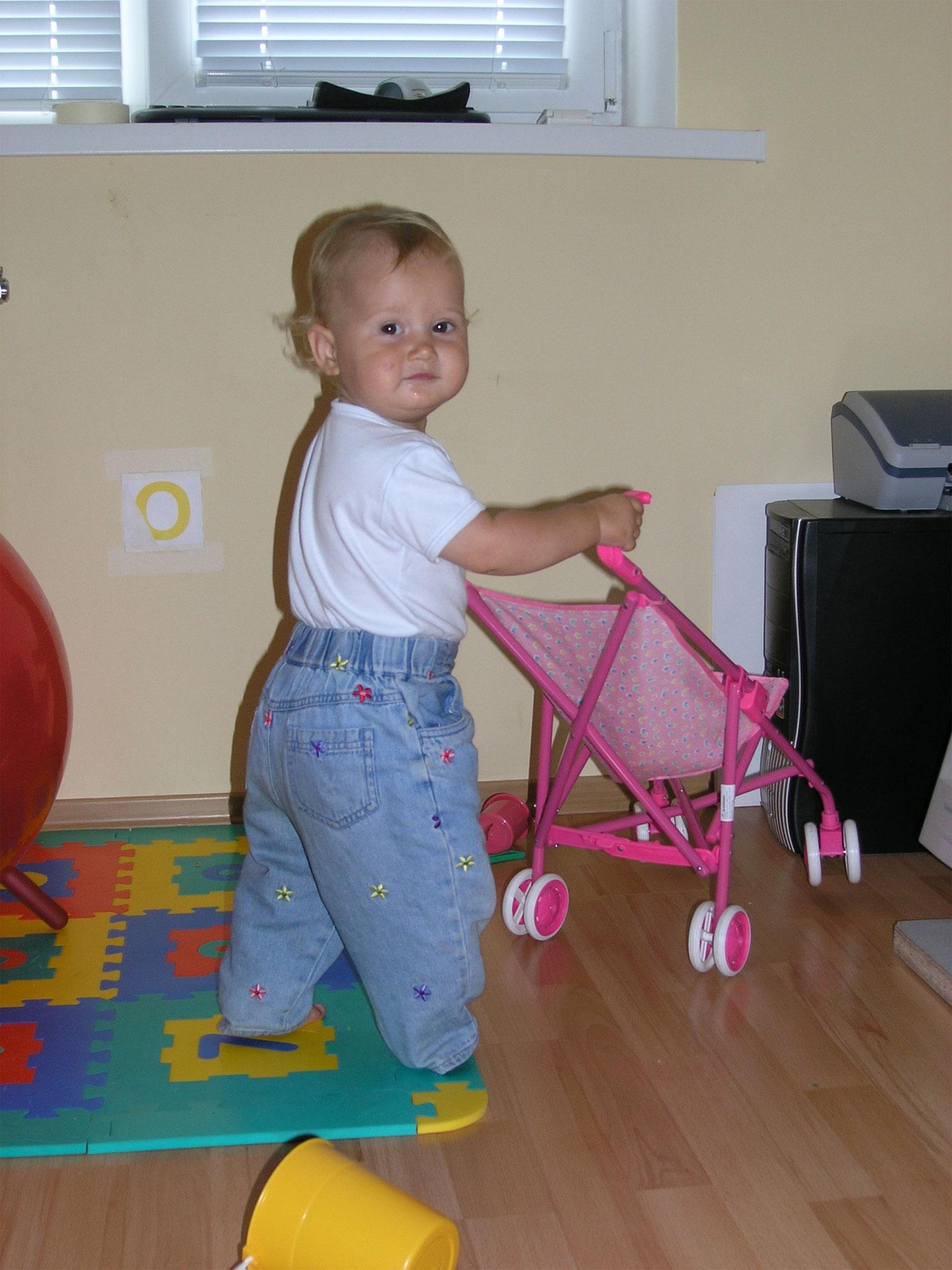 Krisitna Karpenko 1 year old